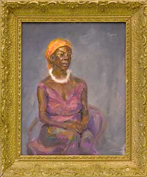 Portrait of African American Dancer done from life