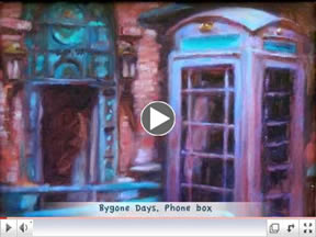 Youtube video of oil paintings by Artist Riki R Nelson