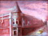 Cityscape Oil Paintings of Los Gatos California