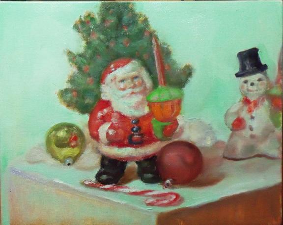 Paintings of Santa Claus