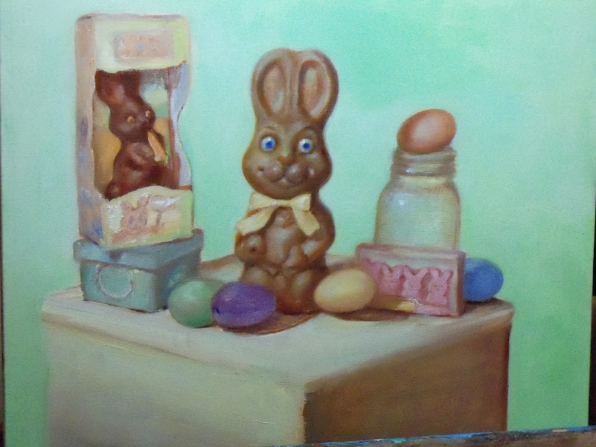 Paintings of the Easter Bunny