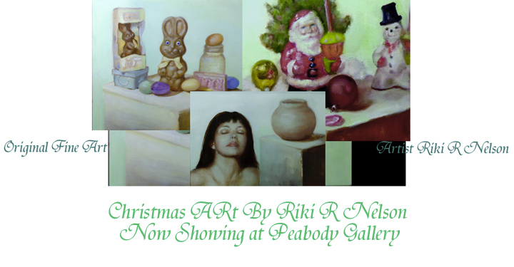The Holiday Art of Riki R Nelson riki-arts.com