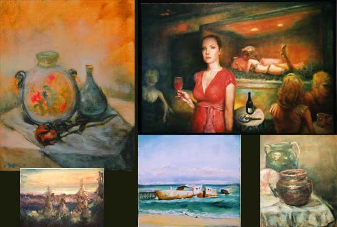 new impressionist plein air oil paintings