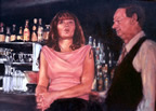 Jazz Bar Scene Oil Painting