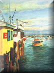 Jazz art paintings and SEascape paintings